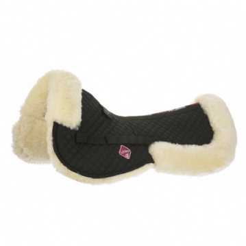 LEMIEUX SHEEPSKIN HALF PAD BLACK/NATURAL